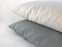 Griķu sēnalu spilvens 40x60cm, biezs kokvilnas apvalks